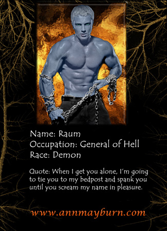 Raum, demon and General of Asomdeous's army in Hell
