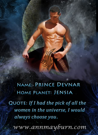 Devnar from The Breaker's Concubine by Ann Mayburn Erotic Sci-Fi Romance